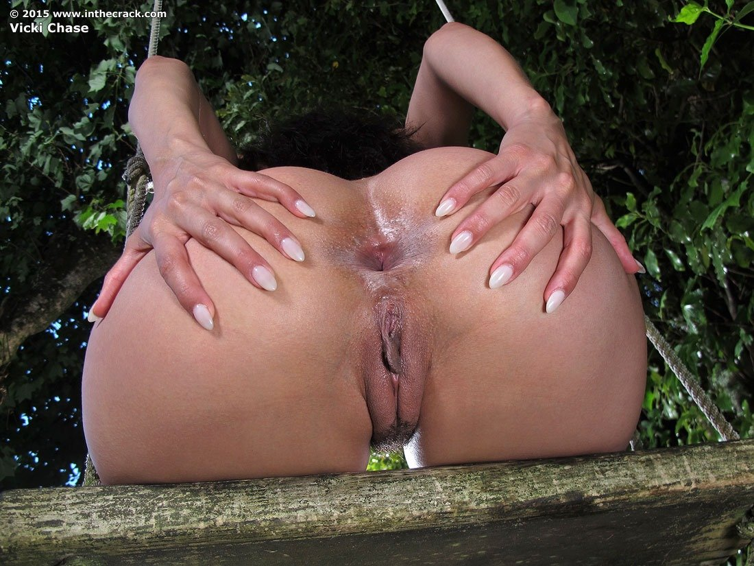 Brunettes playing their toys and a huge cock 3